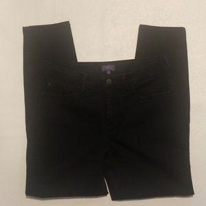 NYDJ black  super skinny jeans size 12